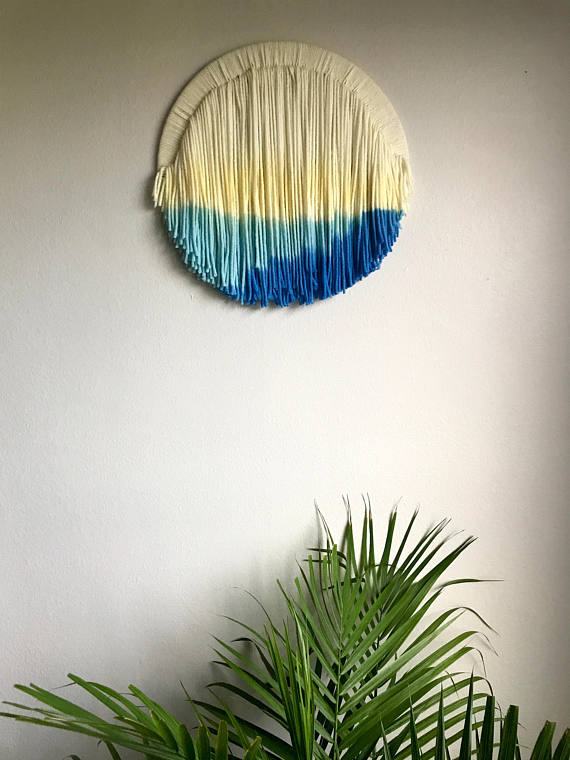 Colorful Wall Hanging by FringeFortyFour