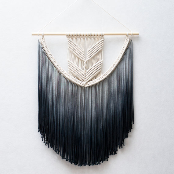 Black and White Weaving by TeddyandWool