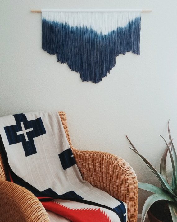 Hand dyed Weaving by RoxiesWorkshop