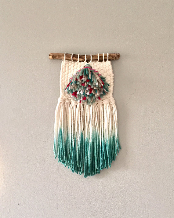 Mini Weave Woven Wall Hanging by JunahWoods