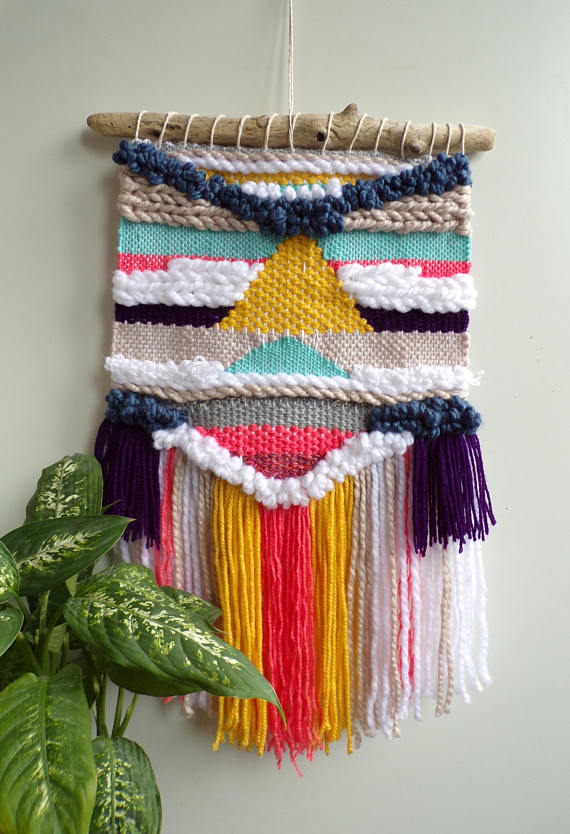 Colorful Weaving by Lilyhandmadecentre