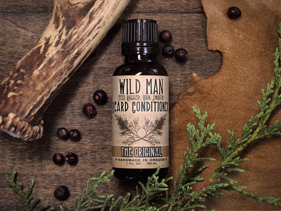 Wild Man Beard Oil Conditioner by WildRoseHerbs