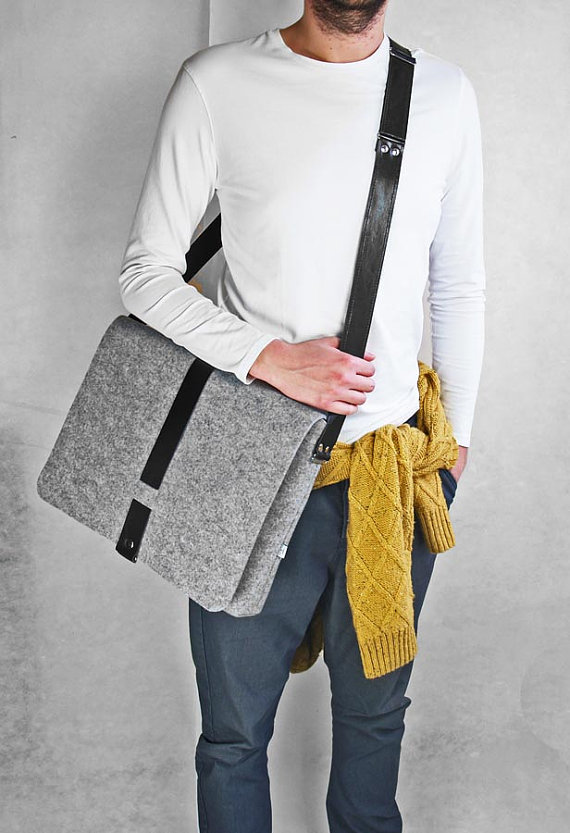 Men's Laptop Bag by PurolDesignBag