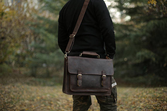 Messenger Bag by NativeLeatherDesign