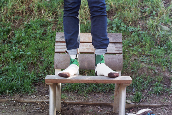 Inspired by Nature Socks by AparTTogether