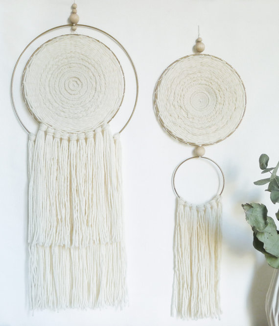 Circular Wall Hanging by Totembypoppy