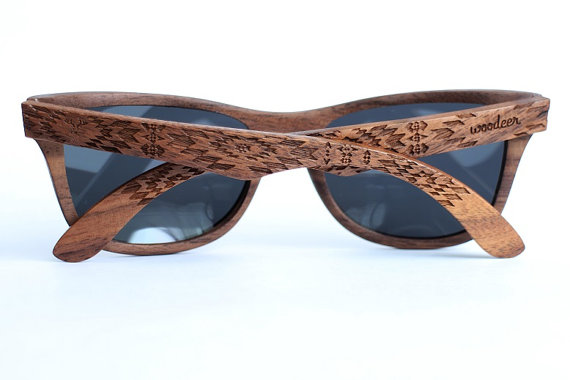 Wood Sunglasses from Walnut by Woodeer