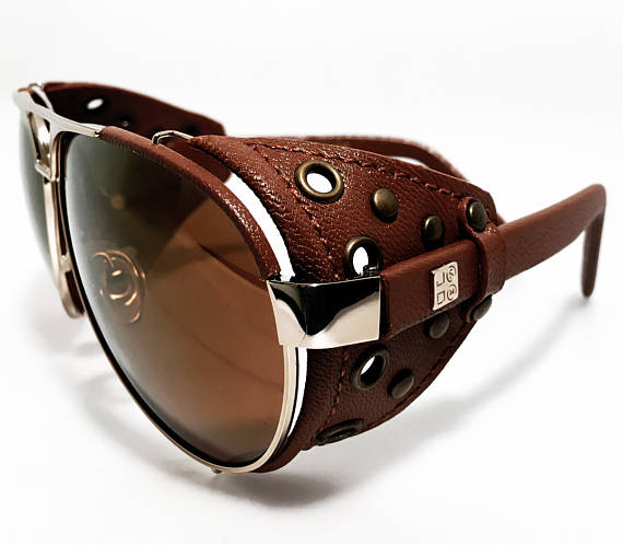Sunglasses with Leather by USOMshop