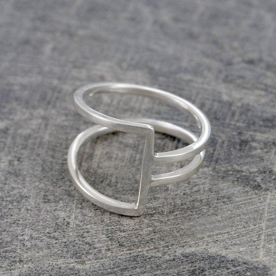 Modern Sterling Silver Ring by OtisJaxon