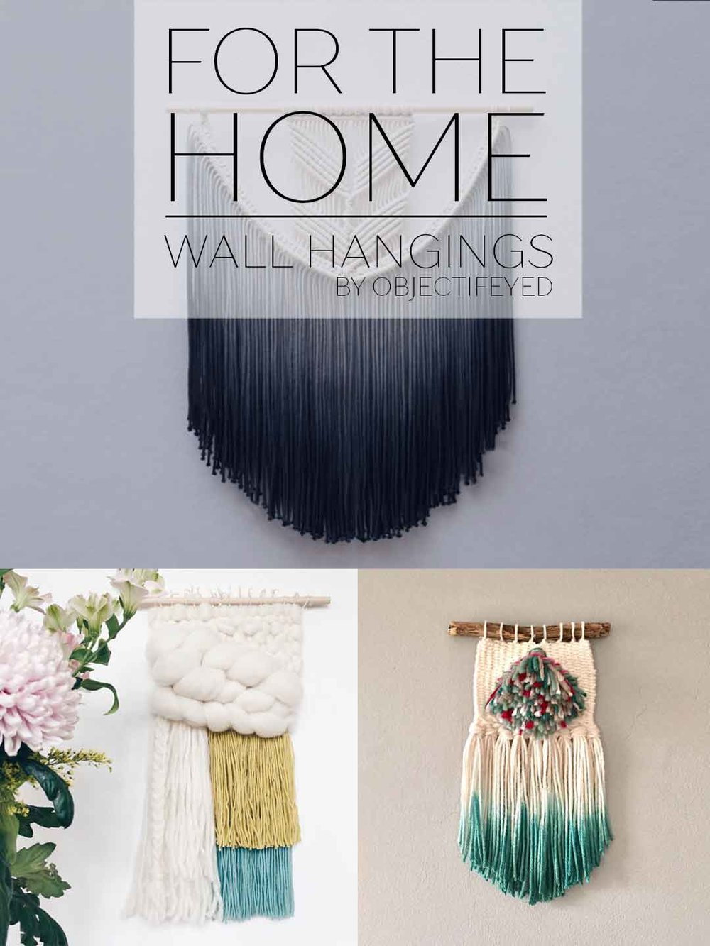 Cool Weavings and Wall Hangings by Objectifeyed
