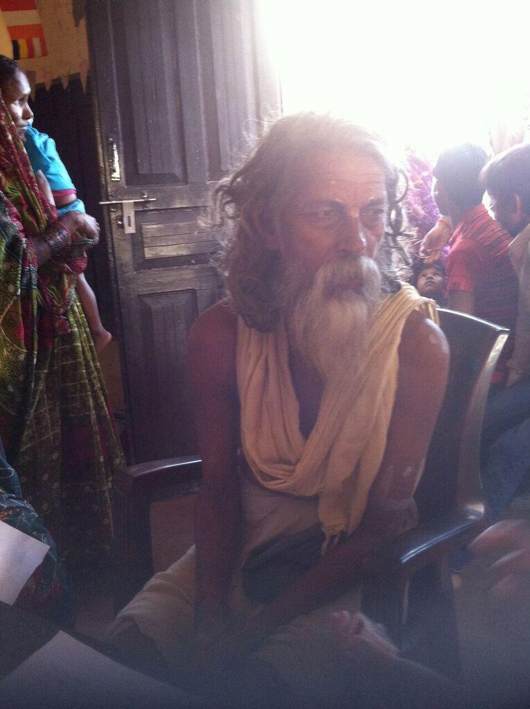 A sadhu comes to clinic.jpeg