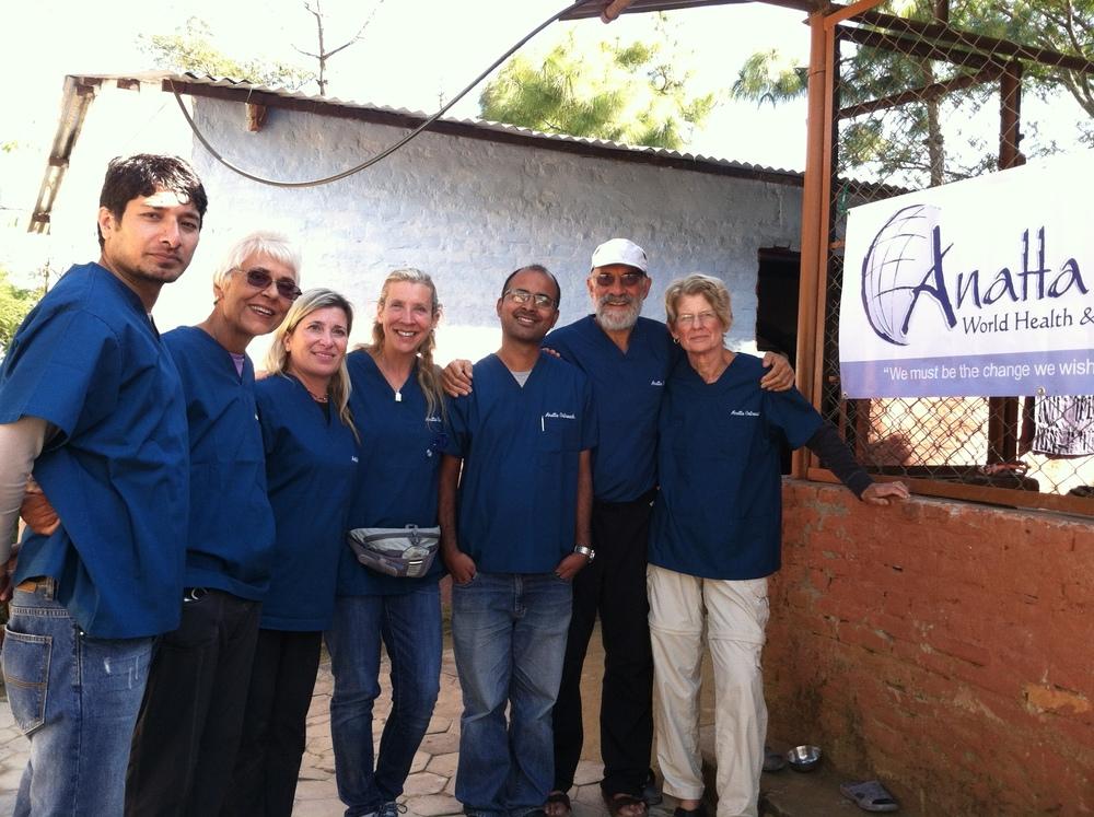 med team with Anatta sign.jpg