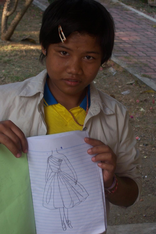 girl w drawing.JPG