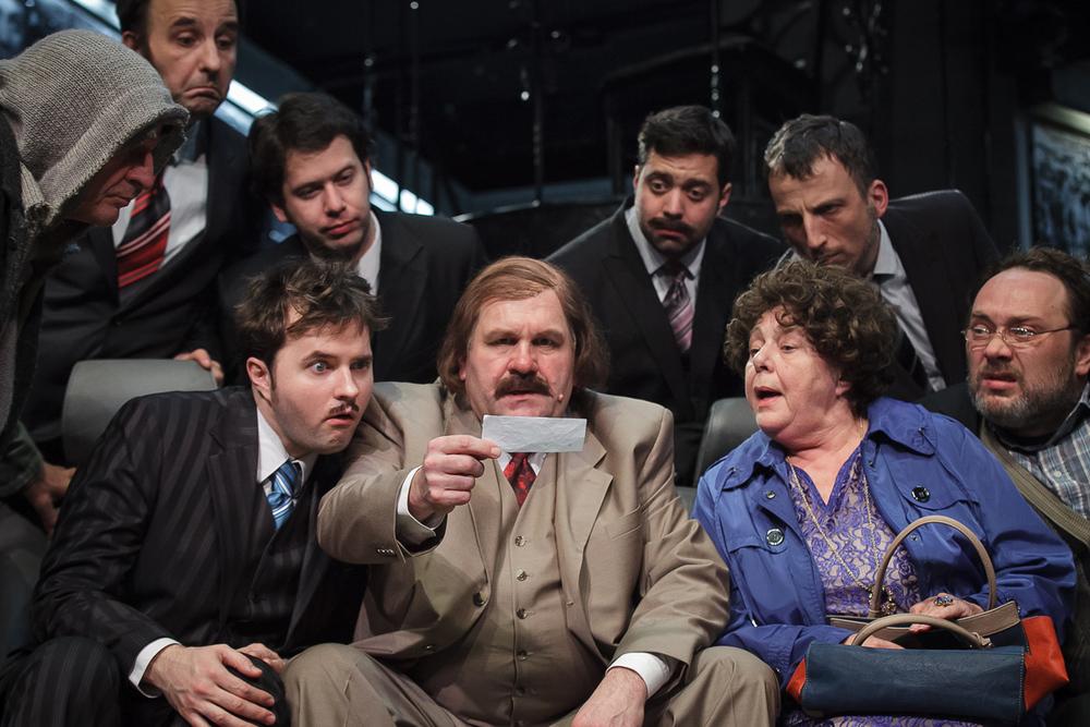 Holt lelkek (Radnóti Theatre 2013) - Pál Szucs Péter, György Gazsó, Mari Csomós