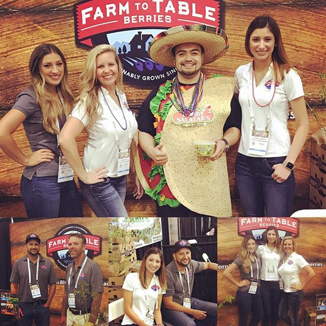 We're at the FRESNO FOOD EXPO 2017!!! Here until 8pm #farmtotableberries #foodexpo  #expolicious #somuchgoodfood