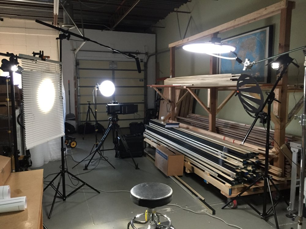 Here's the Eyedirect in action during a recent shoot for Soundwall in Boulder, CO.