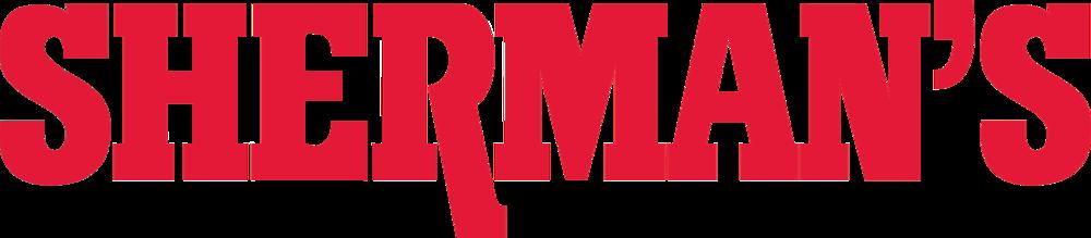 Hole Sponsor - Shermans - Logo Red transparent.png
