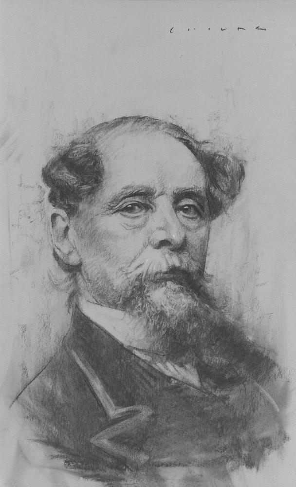 Charles Dickens    Print Available from Studio550 Press