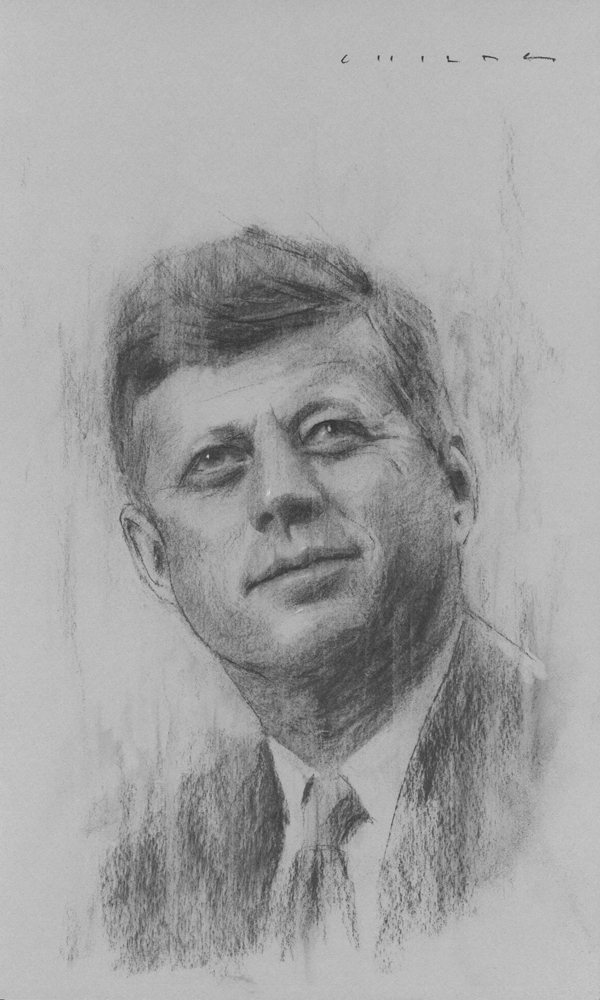 John F. Kennedy    Print Available from Studio550 Press