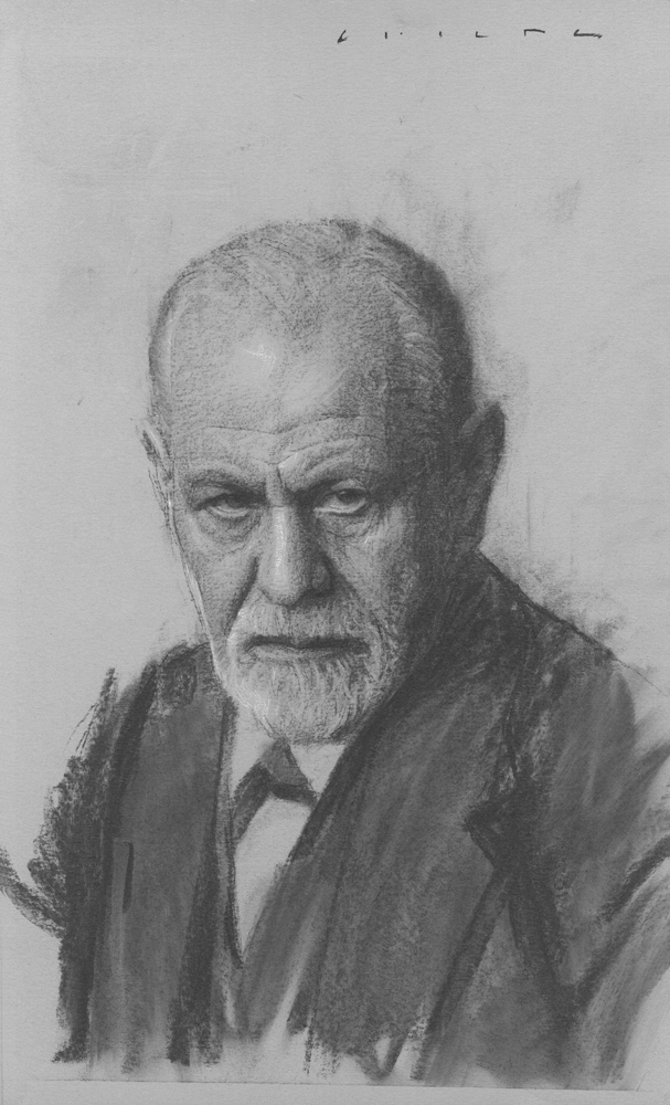 Sigmund Freud    Print Available from Studio550 Press