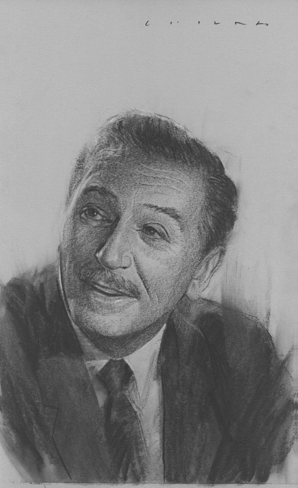 Walt Disney    Print Available from Studio550 Press