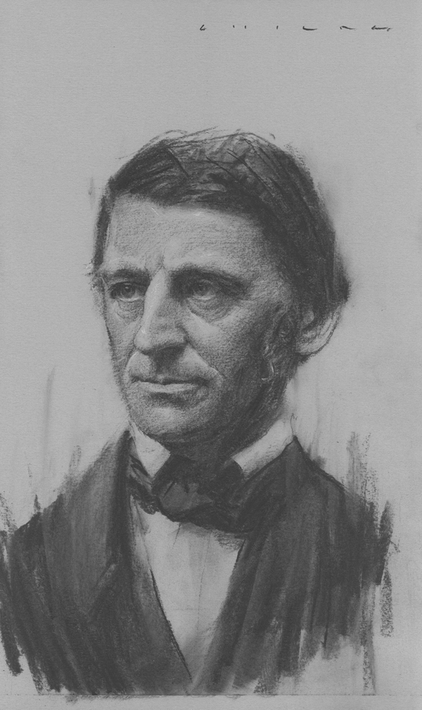 Ralph Waldo Emerson  Print Available from Studio550 Press