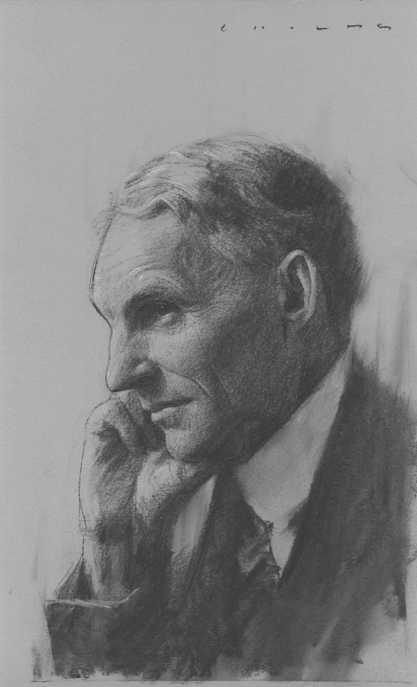 Henry Ford  Print Available from Studio550 Press
