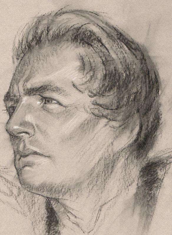 Sketch of Joseph Smith by Casey Childs