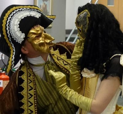 Phoenix Theatre corporate masquerade performers