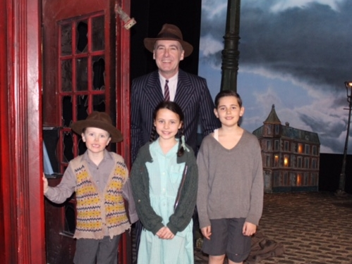Phoenix Youth Theatre pupils in An Inspector Calls