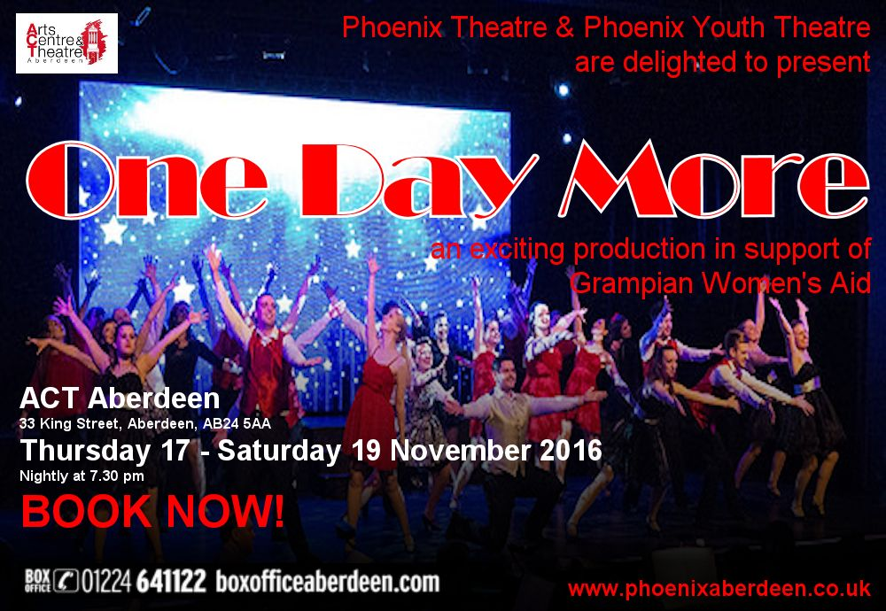 Tickets Available from Aberdeen Box Office. Click on the Poster for More Details!