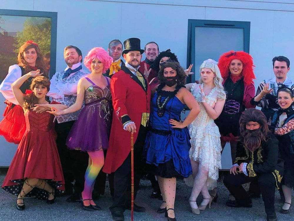 The Greatest Showman corporate entertainment team from Phoenix Theatre