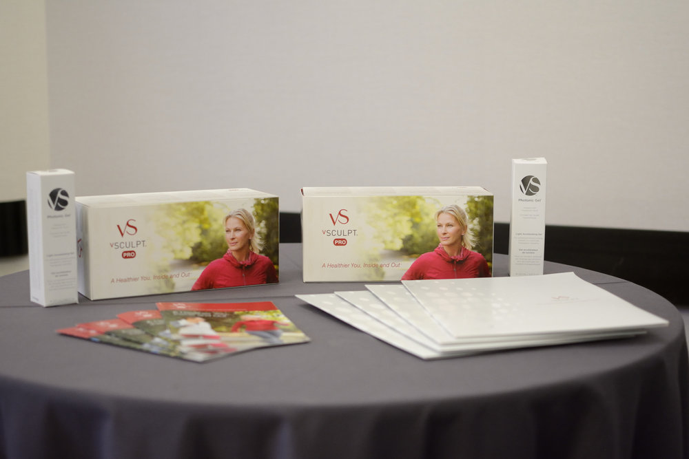 vSculpt display at the Portfolia Investor Summit: Activating Women's Health