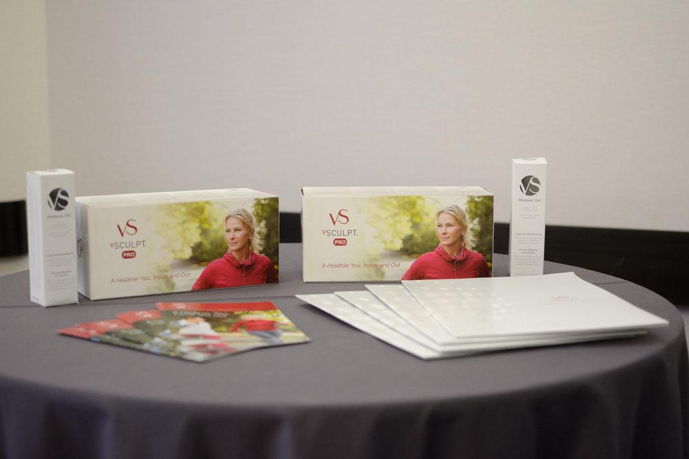 vSculpt display at the Portfolia Investor Summit: Activating Women's Health