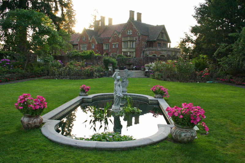 Olmsted brothers gardens sunken english garden for English garden pool
