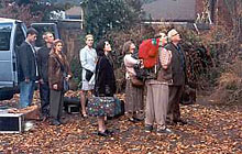 "As the cast arrives at ""Rose Red"" (Thornewood Castle) to explore its' hauntings..."