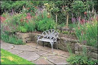 In the 1920s, 28 gardeners, including one hired just to orchestrate the color schemes in the walled garden, tended the Thornewood estate. Today the restored secret garden is used for weddings, high teas and as a place for Thornewood castle bed and breakfast visitors to enjoy the roses and perennials.