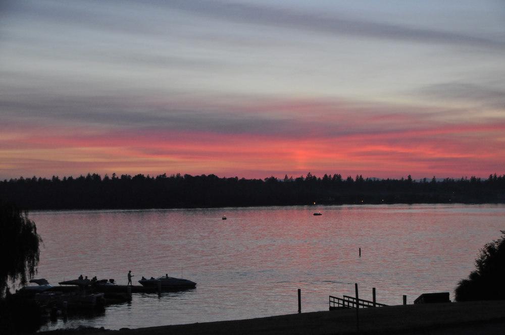 Dock & Lake at Sunset.jpg