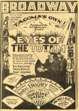 An ad for the film from The Tacoma Ledger newspaper