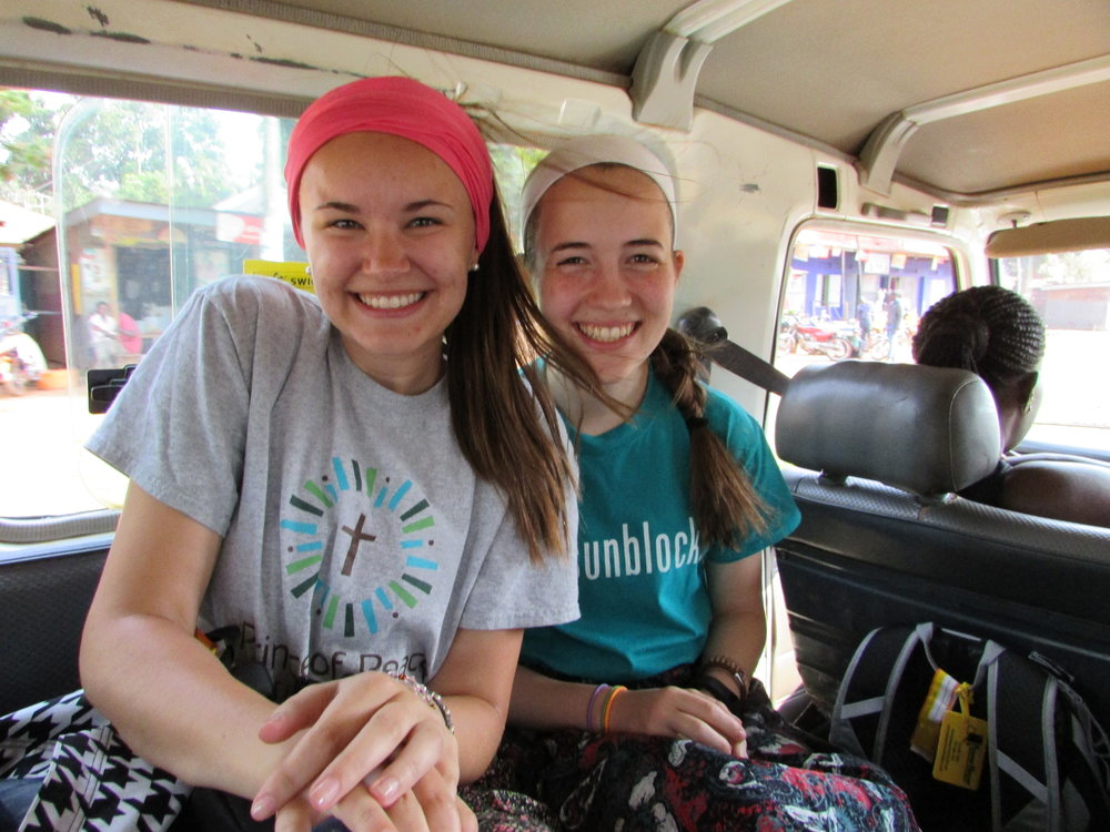 Americans in a van.JPG