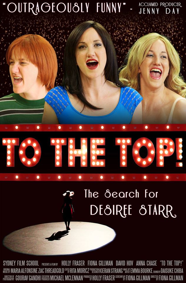 It's finally here! The Broadway smash musical 'To The Top! is at last coming to Australia, and the auditions for Desiree Starr are going to be fierce.