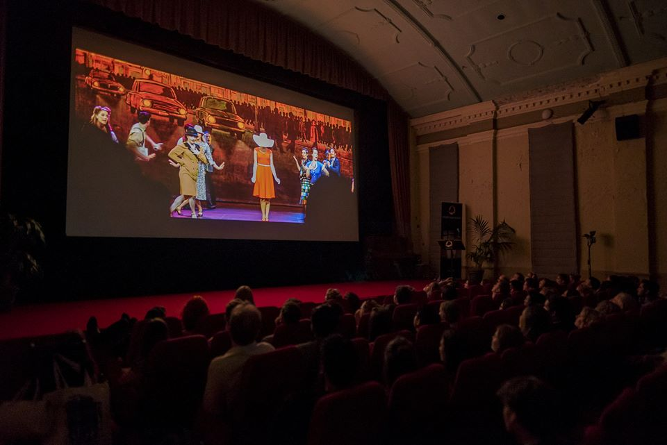 A photo from the premiere screening at the Chauvel Cinema.