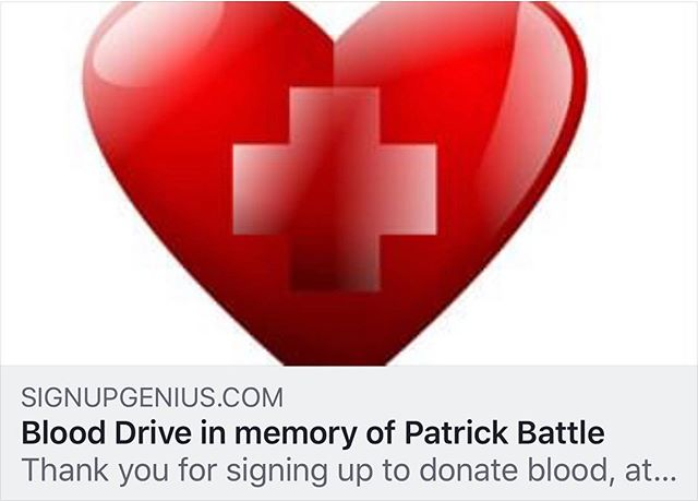 """This morning I read a beautiful post by Meredith Kallaher about Patrick Battle and his family. Everything she wrote hits home and not a day goes by in our home down the street when their journey and grace doesn't cross our minds and heart.  #battlestrong will forever be a part of our lives and sometimes the right words fall short but I run past their home every day with """"Take me home, country road """" on my playlist and a deep well in my soul to contribute and love as part of theircommunity.  https://youtu.be/1vrEljMfXYo"""