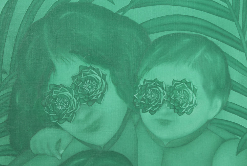 Lotus Eye Family (Detail)