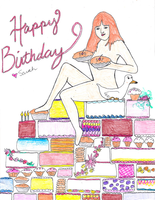 Sexy Birthday Cakes and Pies