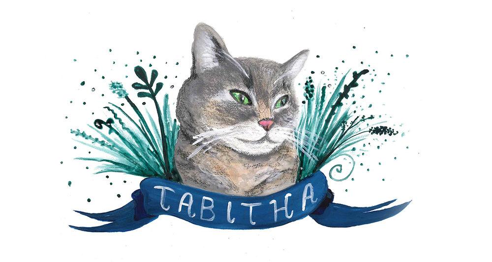 Tabitha / gouache / August 2016