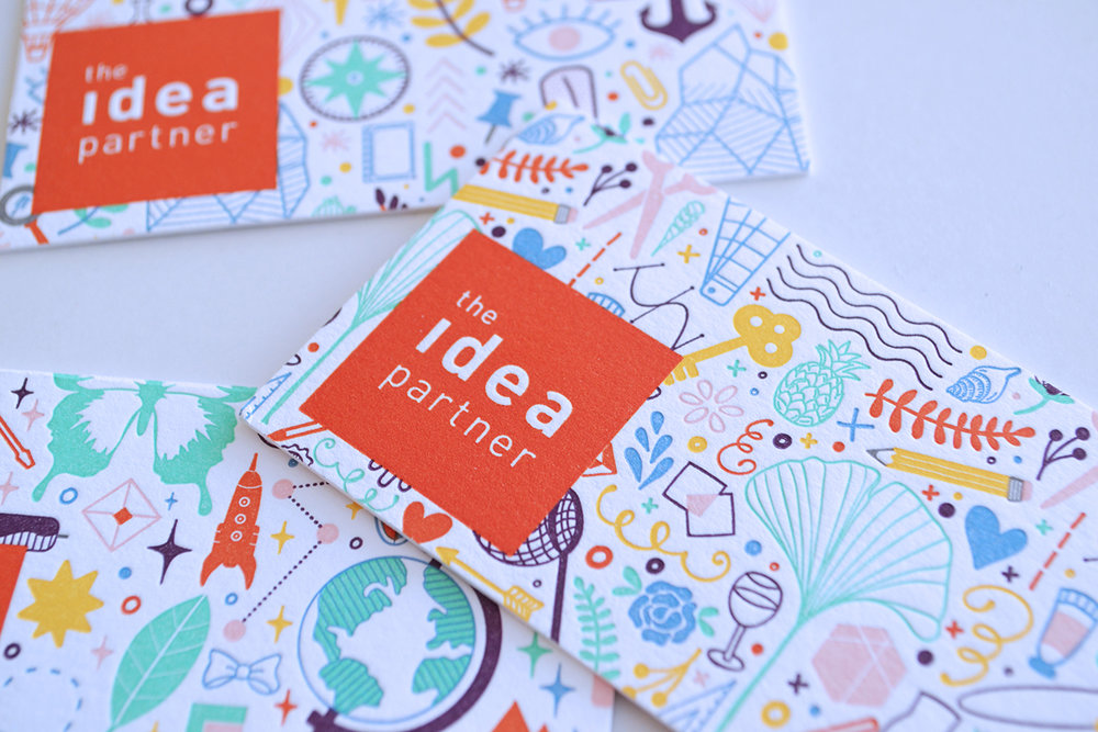 The Idea Partner Business Cards - Design // Branding