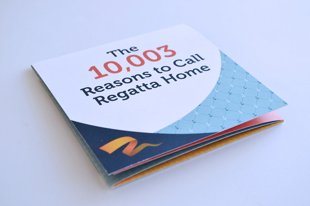 Regatta Direct Mailer - Design // Production