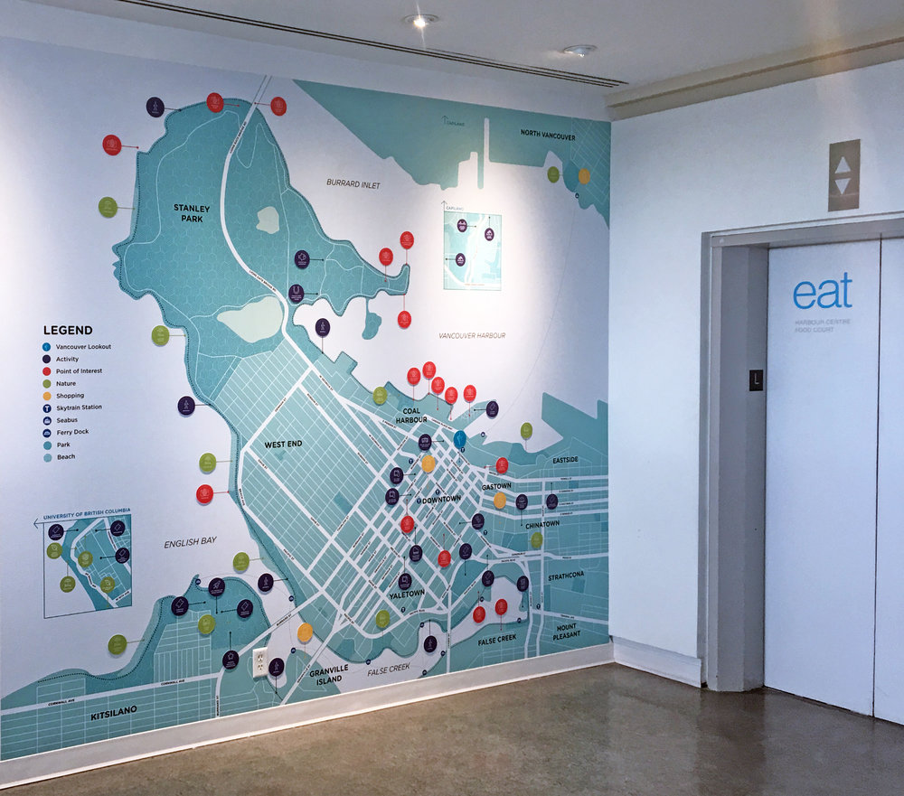 Vancouver Lookout - Design // Environmental Graphics