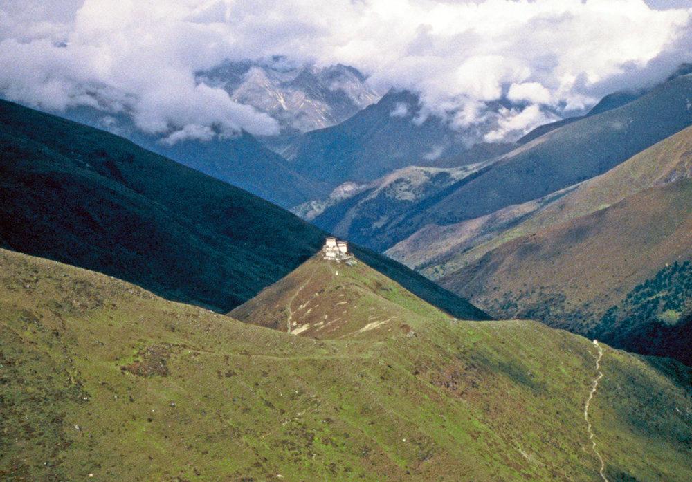 Mountain Fortress,Bhutan